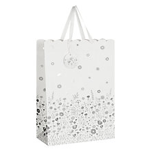 Buy John Lewis Wedding Blossom Gift Bag, White, Large Online at johnlewis.com