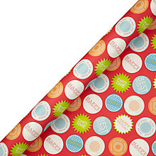 Buy John Lewis Birthday Badge Wrapping Paper, Multi, L3m Online at johnlewis.com