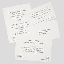 Buy The Letter Press Shelley Wedding Invitation Collection Online at johnlewis.com