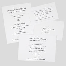 Buy The Letter Press Regency Wedding Invitation Collection Online at johnlewis.com