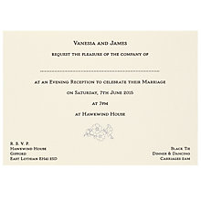 Buy The Letter Press Blossom Evening Invitations, Pack of 60 Online at johnlewis.com