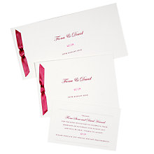 John Lewis Gold Wedding Evening Invite Pack Of 6
