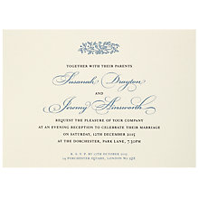 Buy The Letter Press Electra Evening Invitations, Pack of 60 Online at johnlewis.com