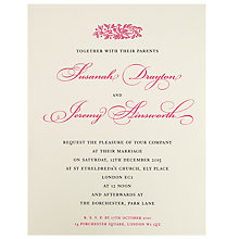 Buy The Letter Press Electra Invitations, Pack of 60 Online at johnlewis.com