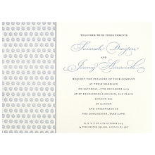 Buy The Letter Press Drayton Invitations, Pack of 60 Online at johnlewis.com
