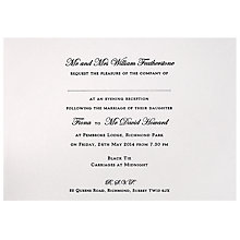 Buy The Letter Press Regency Invitations, Pack of 60 Online at johnlewis.com