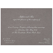 Buy The Letter Press Pimlico Evening Invitations, Pack of 60 Online at johnlewis.com