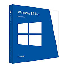 Buy Microsoft Windows 8.1 Pro Upgrade DVD, 32/64-bit Online at johnlewis.com