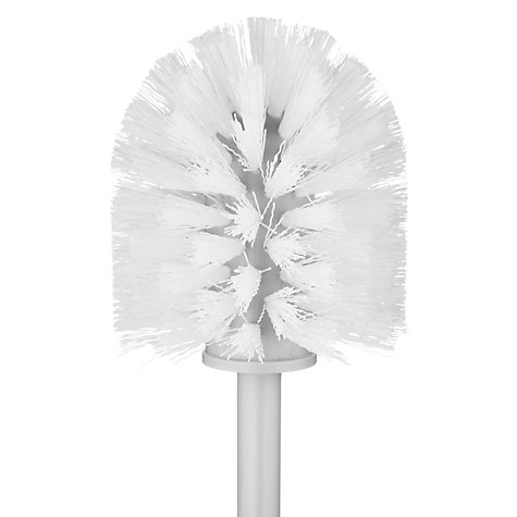 Buy Brabantia Toilet Brush and Holder, White Online at johnlewis.com