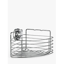 Buy Bliss Lock N Roll Corner Suction Shower Basket Online at johnlewis.com