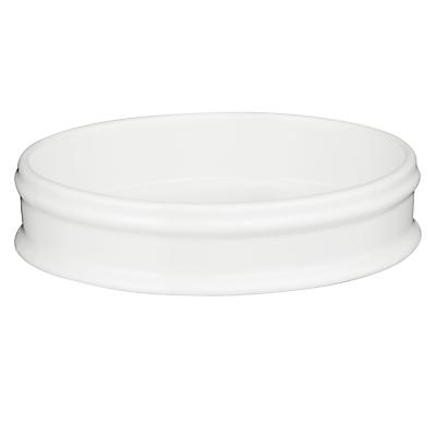 John Lewis Croft Collection Skye Soap Dish, White