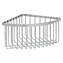 Buy John Lewis Stainless steel Deep Shower Corner Basket Online at johnlewis.com