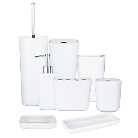 Buy House by John Lewis Mode Bathroom Accessories  Online at johnlewis.com