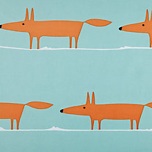 Buy Scion Mr Fox Shower Curtain Online at johnlewis.com