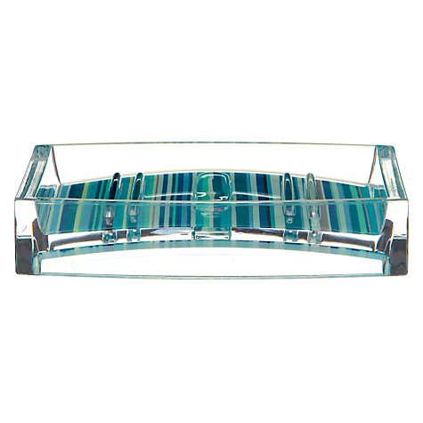 Buy John Lewis Stardust Soap Dish, Blue Online at johnlewis.com