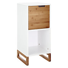 Buy John Lewis Malmo Bathroom Single Door Cupboard Online at johnlewis.com