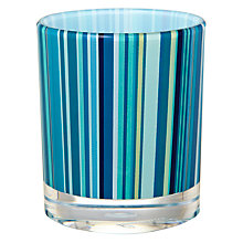 Buy John Lewis Stardust Bathroom Tumbler, Blue Online at johnlewis.com