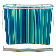 Buy John Lewis Stardust Toothbrush Holder, Blue Online at johnlewis.com