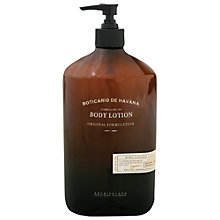 Buy Archipelago Botanicals Boticario de Havana Body Lotion, 453ml Online at johnlewis.com