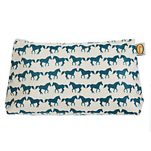 Buy Anorak Kissing Horses Washbag, Medium Online at johnlewis.com