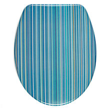 Buy John Lewis Stardust Toilet Seat, Blue Online at johnlewis.com