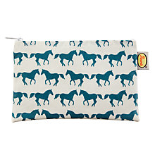 Buy Anorak Kissing Horses Flat Purse Online at johnlewis.com