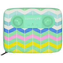 Buy Sunnylife Tablet Sounds Speaker / Case, Lluka Online at johnlewis.com