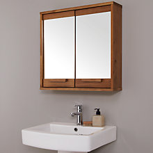 Buy John Lewis Cayman Double Mirrored Bathroom Cabinet Online at johnlewis.com
