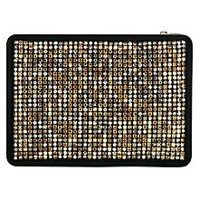 Buy Coast Nora Sparkle Clutch Handbag, Silver Online at johnlewis.com