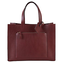 Buy Viyella Oversized Bag, Dark Red Online at johnlewis.com