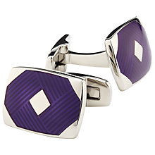 Buy Duchamp Rhombus Weave Cufflinks Online at johnlewis.com