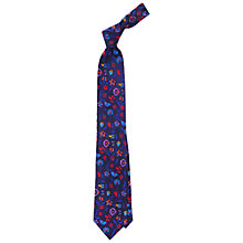 Buy Duchamp Butterfly Garden Floral Tie Online at johnlewis.com
