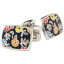 Buy Duchamp Wild Azealia Cufflinks, Multi Online at johnlewis.com