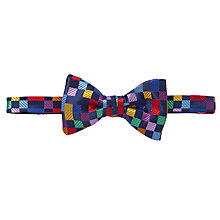 Buy Duchamp Boolean Boxes Self-Tie Bow Tie, Multi Online at johnlewis.com