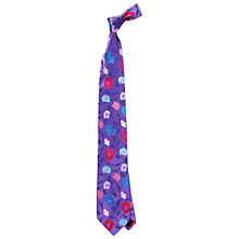 Buy Duchamp Poppy Garden Floral Tie Online at johnlewis.com