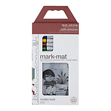 Buy Modern-twist Day At The Pond Mat and Pens Online at johnlewis.com