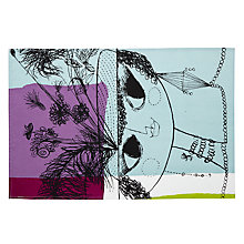 Buy John Lewis Loewy Lady Tea Towel, Multi Online at johnlewis.com