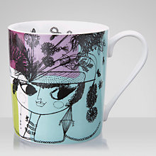 Buy John Lewis Loewy Print Mug, Multi Online at johnlewis.com