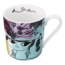 Buy John Lewis Loewy Lady Mug, Multi Online at johnlewis.com
