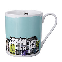 Buy John Lewis Street Scene Print Mug, Multi Online at johnlewis.com