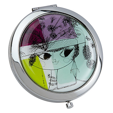 Buy John Lewis Loewy Lady Compact Mirror, Multi Online at johnlewis.com
