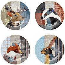 Buy Magpie Beasties Plates, Set of 4 Online at johnlewis.com