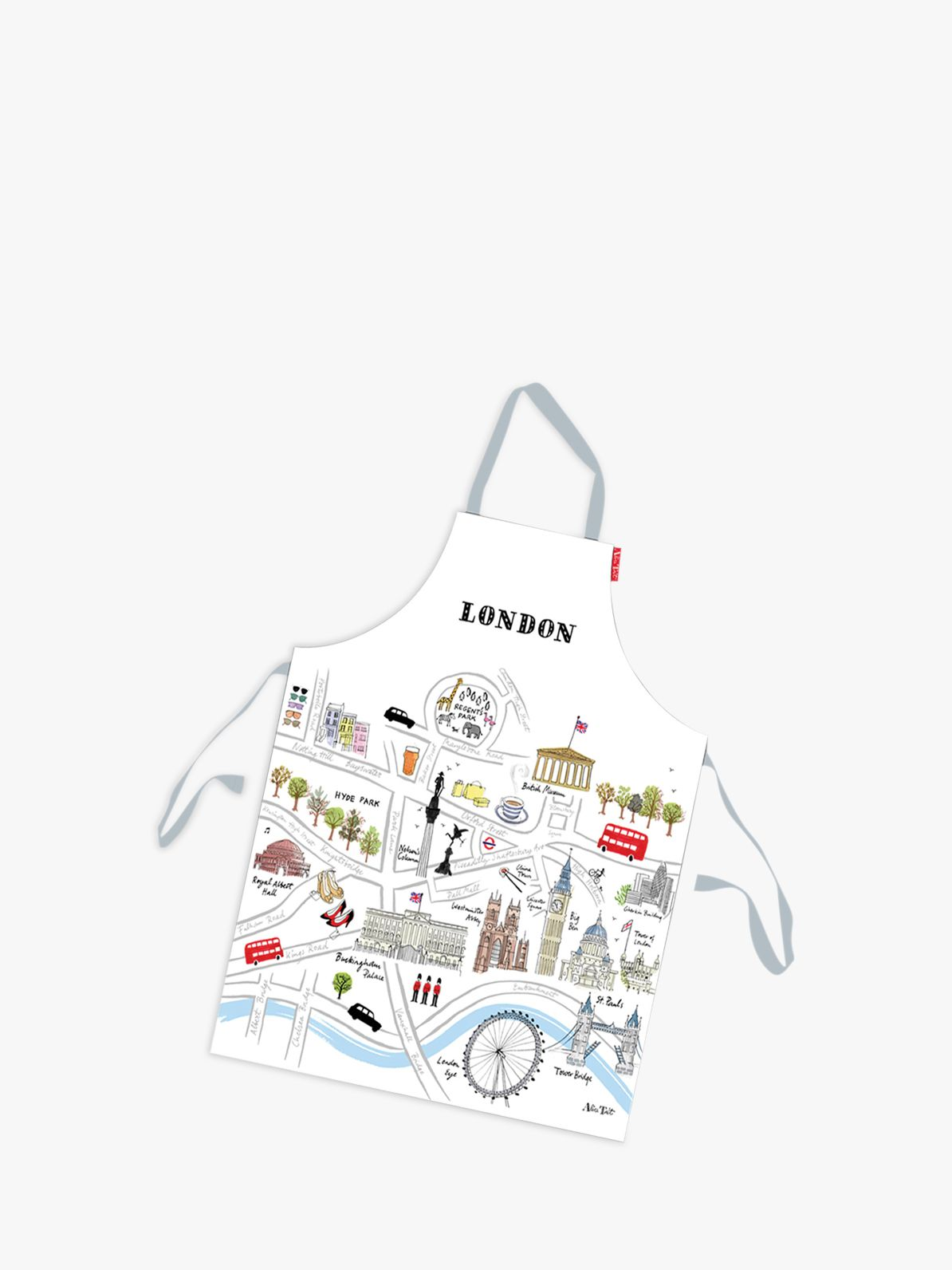 Alice Tait Alice Tait Map of London Apron