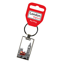 Buy Bus Print Keyring, Multi Online at johnlewis.com