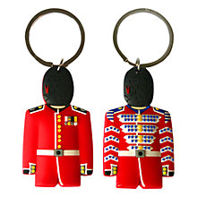 Buy Great Britain Guard Key Ring, Red Online at johnlewis.com