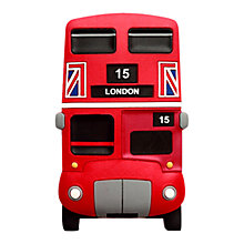 Buy Bus Print Soft Magnet, Red Online at johnlewis.com