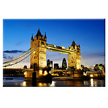 Buy Great Britain Tower Bridge Magnet, Multi Online at johnlewis.com