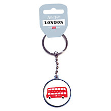 Buy Alice Tait London Bus Keyring Online at johnlewis.com