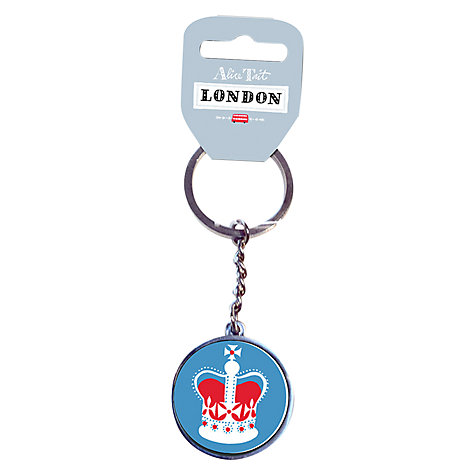Buy Alice Tait Crown Keyring Online at johnlewis.com