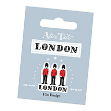 Buy Alice Tait Guards Pin Badge Online at johnlewis.com